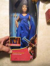 Wonder Woman Diana Princess Doll Hidden Sword Battle Action Figure Mattel