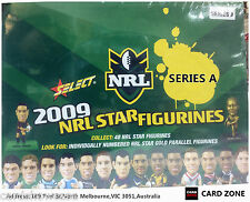 2009 Select NRL Stars Figurines Factory Box A (25 Color + 5 Gold Figurines)