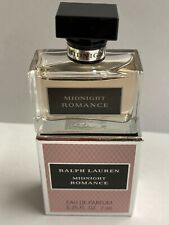 MIDNIGHT ROMANCE by Ralph Lauren 7 ml/ 0.25 oz Eau de Parfum Splash Mini NIB