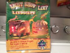 LANDSCAPE LAMP Light Show Lamp Sealed IN IT'S  Original Box By- In Toys We Trust