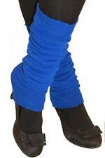 Ladies Girls Teen 80's Dance Plain Ribbed Leg Warmers Legwarmers 13 Colours Tutu