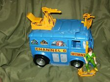 TMNT Channel 6 News Van With Toon April Near Complete 1993