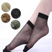 10paires de chaussettes de dentelle transparentes minces chaussettesrespirantesZ