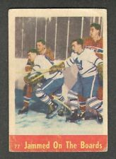 1955-56 BELIVEAU & HARVEY IA #77 G+ Parkhurst HALL OF FAME Stars Key Hockey Card