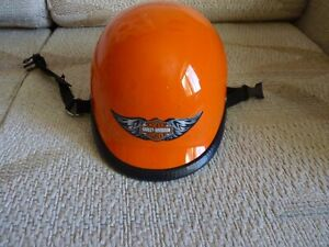 Novelty Motorcycle Half Helmet, Large with quick release