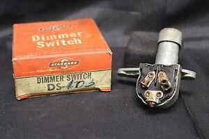 Vintage NOS Standard Dimmer Switch DS-47 1935 - 56 Willys, Nash, Packard, Desoto