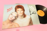 DAVID BOWIE LP PIN UPS 1° ST ORIG ITALY 1973 NM GROOVED LABEL !!!!!!!!!!!!!!!!!!