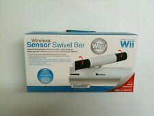 NEW Sealed WIRELESS SENSOR SWIVEL BAR FOR WII AND WII U Sensor Bar