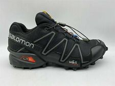 SALOMON Speed Cross 3 Mens Black Racing Single Replacement RIGHT Shoe UK 7