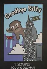Todd Goldman Goodbye Kitty King Kong Poster Kunstdruck Bild 91x61cm