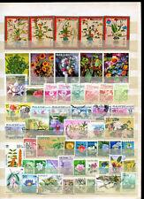Lot Blumenmotive o ( 41102 )