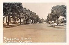 Real Photo Postcard Residential Section in Oceanside, California~108394