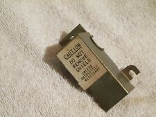 Seeburg Jukebox V 200  VL 200  Original Coin Switch Assembly-  Metal Coin Cover