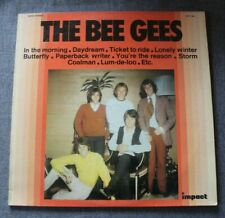 The Bee Gees, in the morning , LP - 33 tours impact