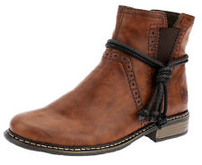 Rieker Damen Stiefeletten Boots Stiefel Chelsea Booty Schuhe Braun 14766