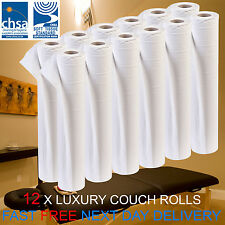 "LUXURY White 20"" Couch Hygiene Roll - (12 Roll Box) GET 10% OFF WHEN YOU BUY 2+"