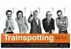 TRAINSPOTTING - MOVIE POSTER 24x36 -