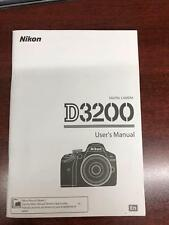 Digital Camera D3200 Users Manual English
