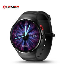 LEMFO LES1 Bluetooth Smart Watch Phone SIM GPS WiFi Pedometer For Android IOS