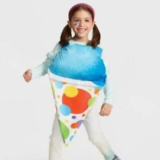 Hyde & Eek Kids Blue SNOW CONE Halloween Costume ONE SIZE  Pullover NWT