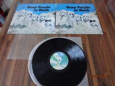 """DEEP PURPLE """"IN ROCK"""" - LP JAPAN + INSERTS -  P-10108W"""