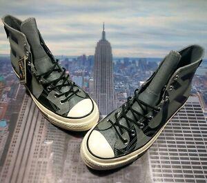 Converse Chuck 70 Hi High Top Gore-Tex Cool Grey/Black Mens Size 9.5 163227C New