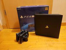 Sony PS4 PRO 1TB CUH-7216B + original box + 2x controllers + new HDD + warranty