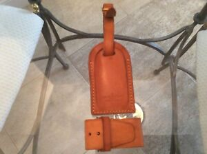 LOUIS VUITTON STRAP HOLDER and Address Tag for KEEPALL/BANDOULIERE Vachetta #A20