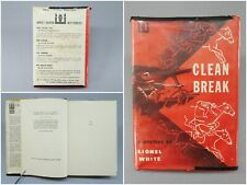 Clean Break by Lionel White True 1955 First Edition Hardcover Crime Novel Book