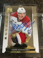 14-15 UD The Cup ANDRE BURAKOVSKY Gold Rookie Patch Auto /10 Capitals RC RPA ARP