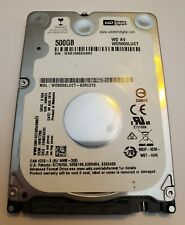 WD 2.5 INCH 500GB SATA III  HARD DRIVE - MODEL WD5000LUCT AV