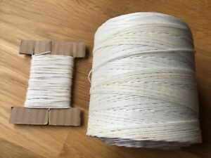 Upholstery Buttoning Twine Strong BONDED Nylon (Tufting) Various Lengths