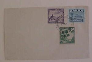 NAURU 13 MARCH 1958 ADDRESSEE ERASED