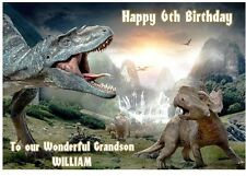 Dinosaur Birthday A5 Card Personalised Son Grandson Nephew Godson Brother Uncle