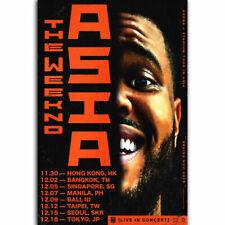 H868 The Weeknd Star Boy World Tour Live Concert R&B 24X36 Art Silk Poster