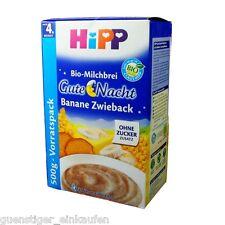 1.1lbs Hipp Organic Milk pudding Good Night Banana Zwieback without Added sugar