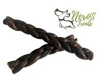 Dog Bones 10-12'' Braided Gullet Stick (Two Pack)  USA Quality! Premium Treats