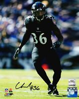Baltimore Ravens Chuck Clark Auto Signed 8x10 Photo (JSA BAS Pass) 757 COA