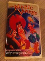 THE MAGIC VOYAGE, VHS, CLAMSHELL