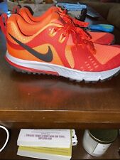 nike air Zoom wildhorse 5 men's trail running shoes Size 6.5 AQ2222-600 crimson