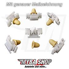 10x ZIERLEISTENKLAMMER M-TECHNIK KLAMMER CLIPS FÜR BMW E36 ZIERLEISTEN #NEU#