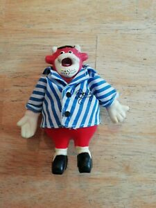 """Small Bully Toy 5"""" From Bullseye Game Show  no 00165"""