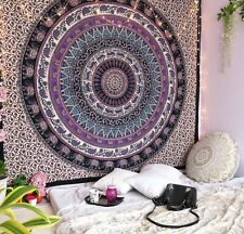 Inidan Mandala Tapestry Indian Wall Hanging Home Decor Hippie Bedspread Mat