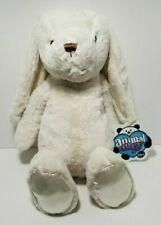 "Animal Alley 16"" Plush Cream Bunny Rabbit Satin Ears & Feet Toys R US"