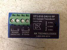 NK Technologies DT1-010-24U-U-SP DC Current Transducer DT101024UUSP (TSC)