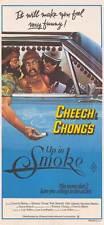 "CHEECH AND CHONG'S UP IN SMOKE Movie POSTER 11x17 Australian Richard ""Cheech"""