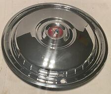 1955 1956 Ford Fairlane Amp Thunderbird Hubcaps 15 Wheel Rim Covers Oem Fomoco