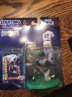 Mo Vaughn Anaheim Angels 1999 Starting Lineup World Series Baseball MLB