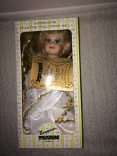 Seymour Mann Porcelain Angel Christmas Tree Topper Doll Connoisseur Collection