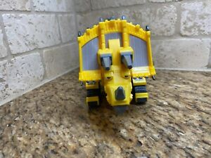 "Dinotrux 12"" Talking Dozer Yellow Triceratops Construction Dinosaur-2016 WORKS"